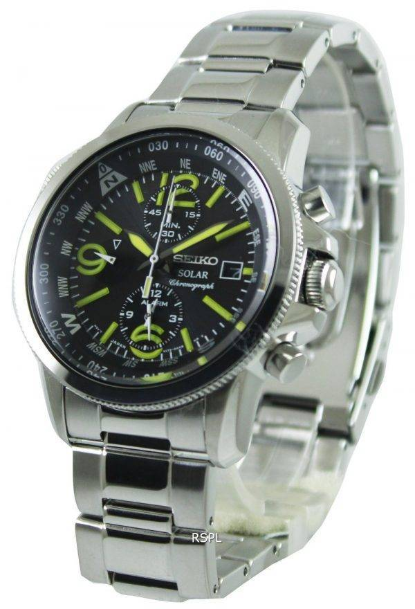 Seiko Prospex Solar Chronograph SSC093P1 SSC093P Mens Watch