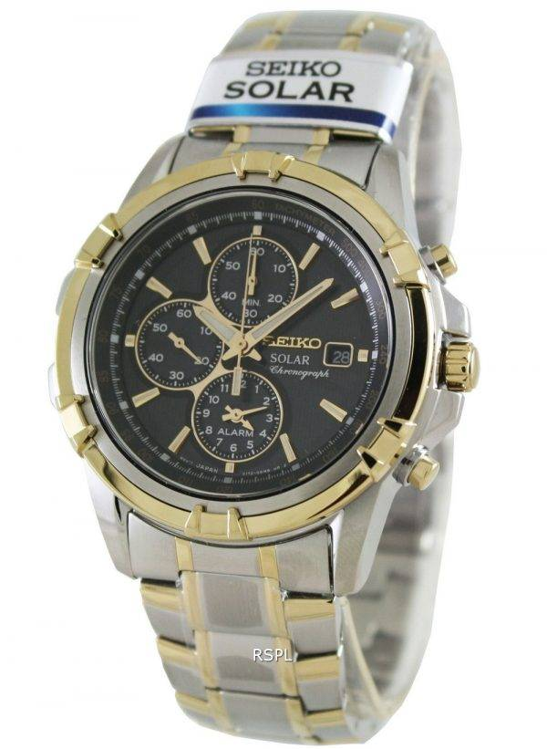 Seiko Chronograph Solar SSC142P1 SSC142P SSC142 Mens Watch
