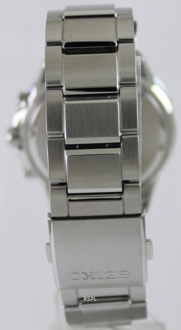 Seiko Solar Chronograph SSC253P1 SSC253P Mens Watch