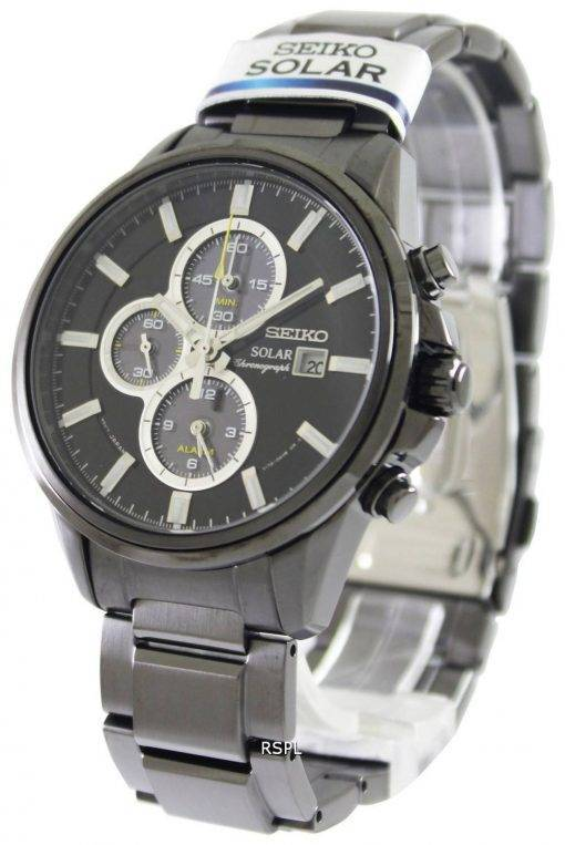 Seiko Solar Chronograph SSC257P1 SSC257P Mens Watch