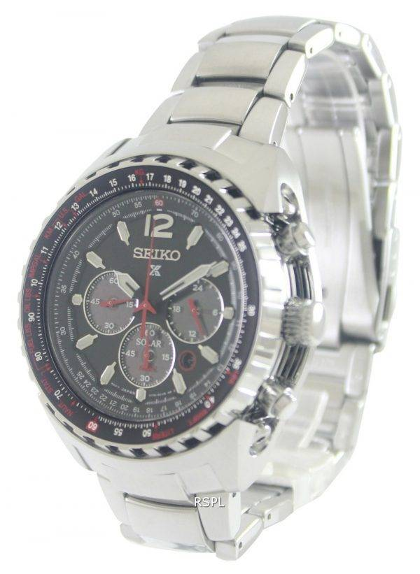 Seiko Prospex Aviation Solar Pilots SSC261P1 Mens Watch
