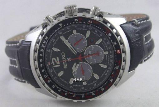 Seiko Prospex Aviation Solar Pilots SSC261P2 Mens Watch