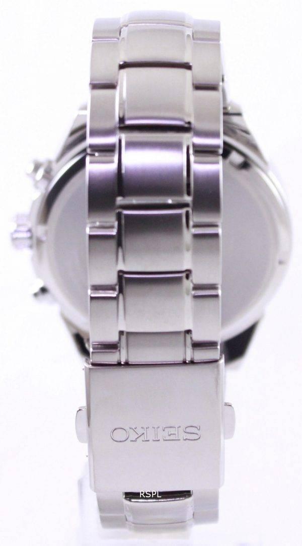 Seiko Solar Titanium Chronograph SSC363P1 SSC363P Mens Watch