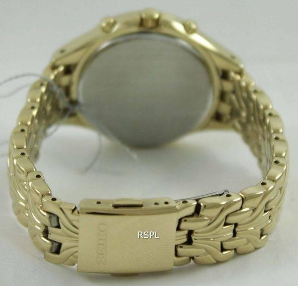 Seiko Core Solar Chronograph Swarovski Crystals SSC876P1 SSC876P Womens Watch
