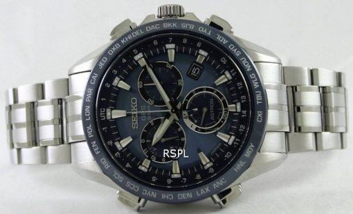 Seiko Astron GPS Solar Titanium Atomic SSE005J1 SSE005J Mens Watch