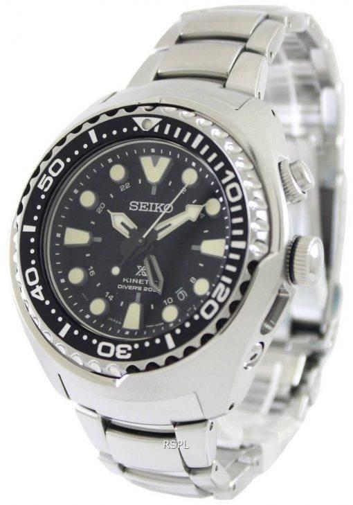 Seiko Prospex Kinetic Divers SUN019P1 SUN019P Mens Watch