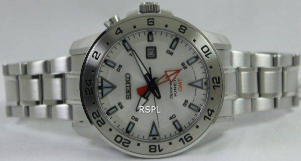 Seiko Sportura Kinetic GMT SUN025P1 SUN025P Mens Watch
