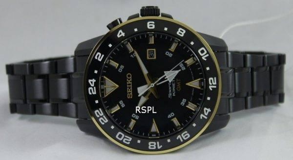Seiko Sportura Kinetic GMT SUN026P1 SUN026P Mens Watch
