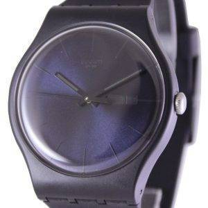 Swatch Originals Black Rebel quartz suisse SUOB702 unisexe