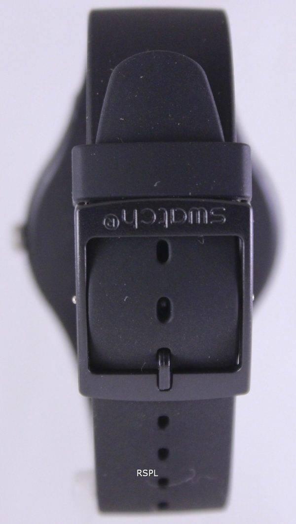 Swatch Originals Black Rebel quartz suisse SUOB702 unisexe