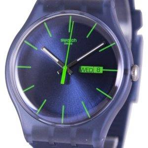 Swatch Originals Bleu Rebel Quartz Suisse SUON700 unisexe