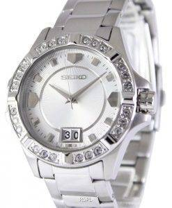 Seiko Quartz Crystals White Dial SUR809P1 SUR809P Women's Watch