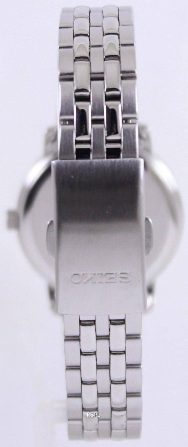 Seiko Quartz Silver Dial SUR831P1 SUR831P Womens Watch