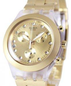 Swatch Irony Diaphane Full-Blooded Chronographe SVCK4032G unisexe