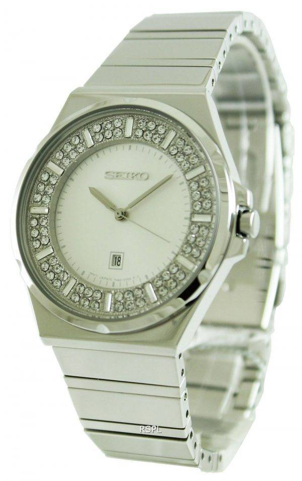 Seiko Quartz Crystal Set Dial SXDF71P1 SXDF71P Womens Watch