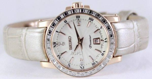 Seiko Premier Quartz Diamonds SXDG60P1 SXDG60P Women's Watch