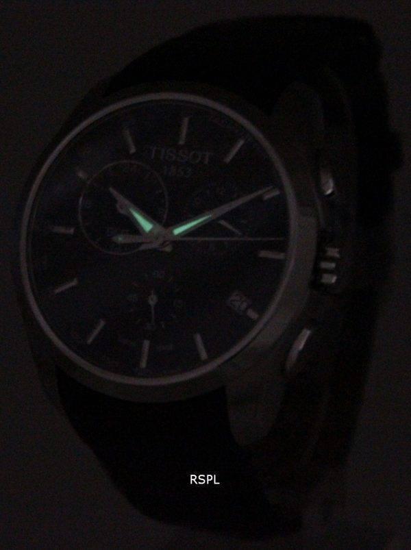 Montre Tissot Couturier Quartz GMT T035.439.16.051.00 masculin