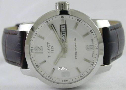 Tissot T-Sport PRC 200 Automatic White Dial T055.430.16.017.00 Mens Watch