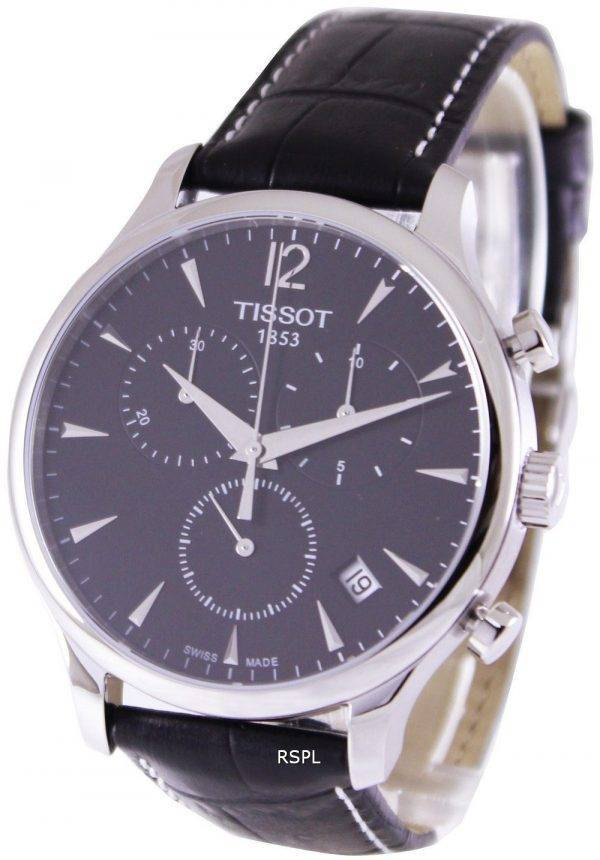 Montre chronographe Tissot Tradition T063.617.16.057.00 masculin