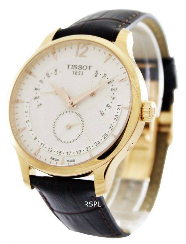 Tissot T-Classic Tradition Perpetual Calendar T063.637.36.037.00 Mens Watch