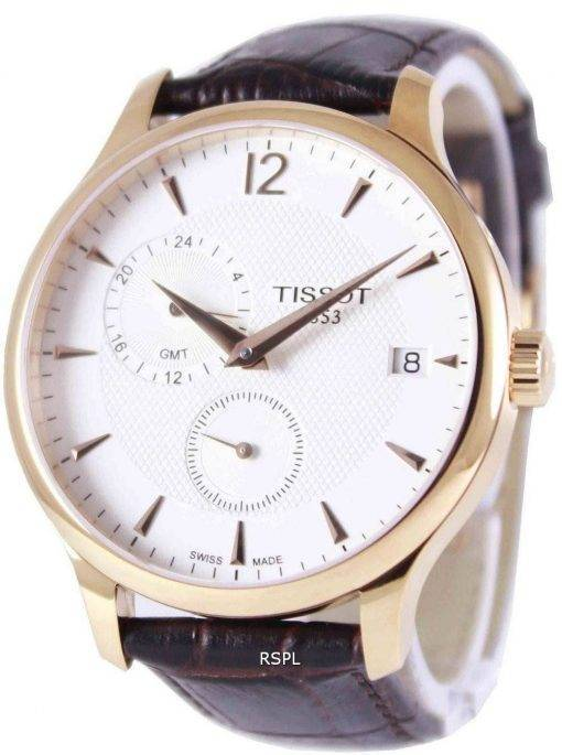 Tissot T-Classic Tradition GMT T063.639.36.037.00 Mens Watch