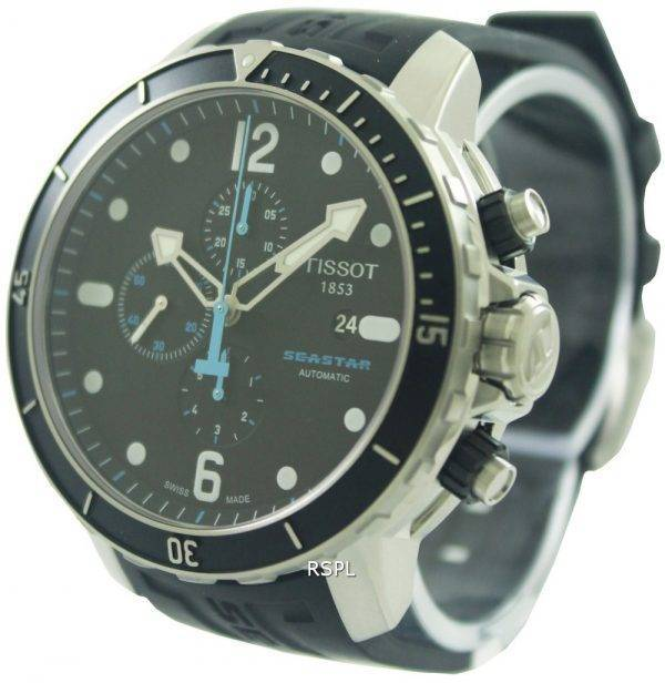 Tissot T-Sport Seastar 1000 Automatic Chronograph T066.427.17.057.00 Mens Watch