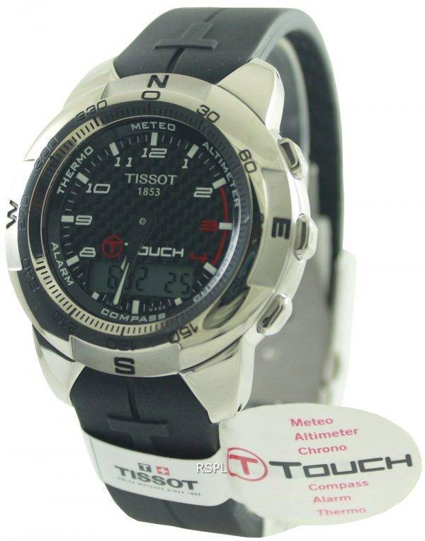 Tissot T-Touch Titanium Multifunction Chronograph T33.7.898.92 Mens Watch