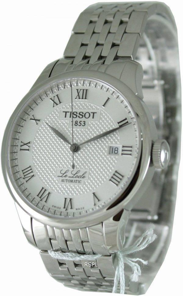 Montre Tissot T41.1.483.33 T-Classic Le Locle automatique homme