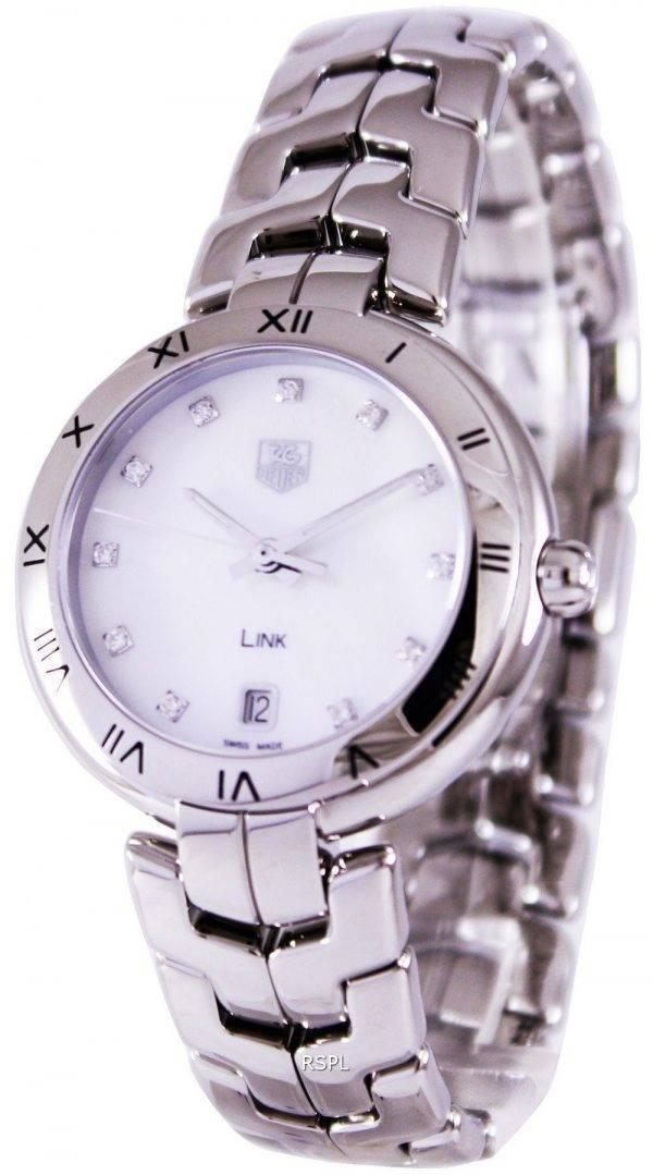 Tag Heuer Link Bracelet Diamond cadran WAT1315. BA0956 Women Watch