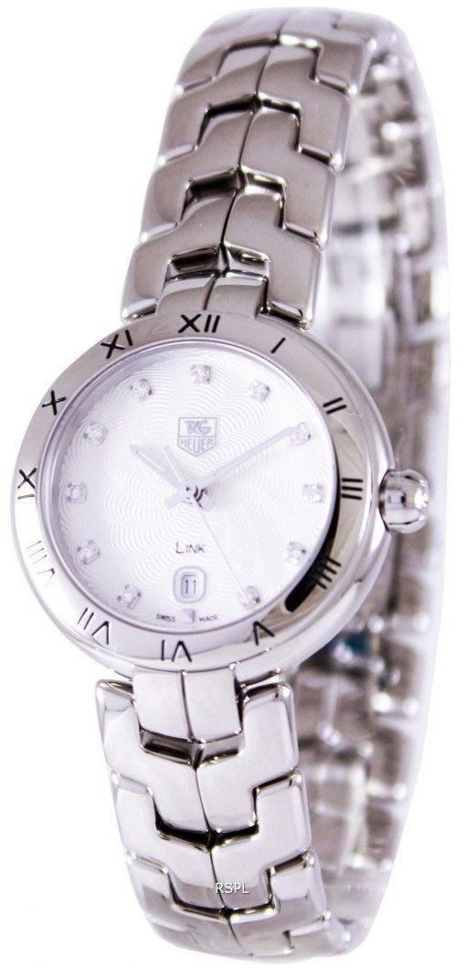 Tag Heuer Link Bracelet Diamond cadran WAT1411. BA0954 Women Watch