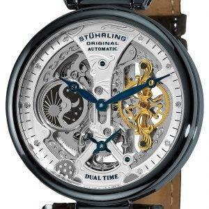 De l'empereur Stührling Original Grand DT automatique Dual Time 127A2.33X52 montre homme