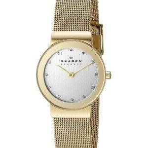 Skagen Freja maillage 15x6mm cristallisé 358SGGD Women Watch