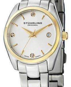 Stührling Original Ascot premier Swiss Quartz Date affichage 414L.03 Women Watch