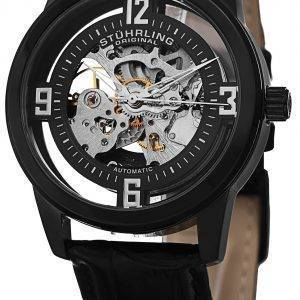 Stührling Original Winchester Self Wind Automatic Skeleton 877.06 montre homme