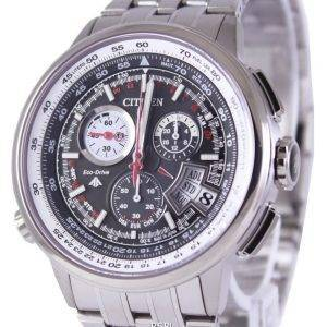 Radiocommandés titane Citizen Promaster BY0010-52E BY0010 World Time montre homme