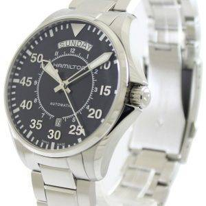 Hamilton jour pilote Date Aviation H64615135 automatique montre homme