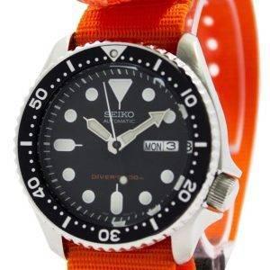 Montre 200M NATO bracelet SKX007K1-NATO7 masculin automatique Seiko Diver