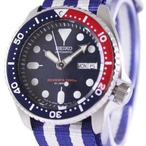 Montre 200M NATO bracelet SKX009J1-NATO2 masculin automatique Seiko Diver