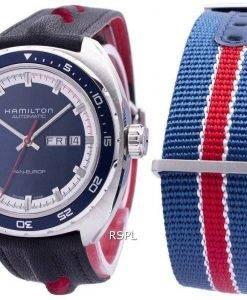 Montre Hamilton American Classic Pan Europ automatique H35405741 masculin