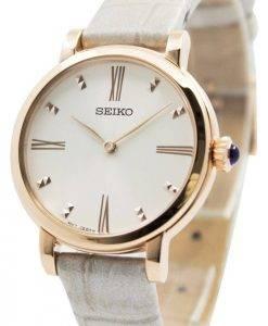 Montre Seiko Quartz cuir sangle SFQ812P1 SFQ812P féminin