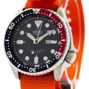 Montre 200M NATO bracelet SKX009J1-NATO7 hommes automatique Seiko Diver