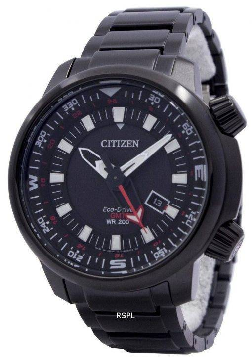 Montre Citizen Eco-Drive Promaster GMT 200M BJ7086-57F masculine