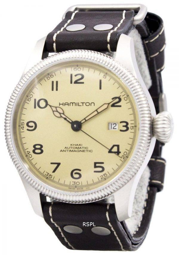 Hamilton Khaki Field pionnier automatique anti-magnétique Swiss Made H60455593 montre homme