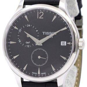 Montre Tissot T-Classic Tradition GMT T063.639.16.057.00 T0636391605700 masculin