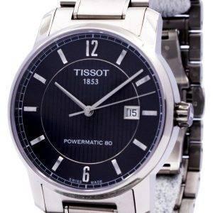 Montre Tissot T-Classic titane automatique T087.407.44.057.00 T0874074405700 masculin