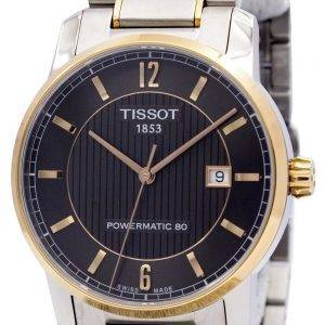 Montre Tissot T-Classic titane automatique T087.407.55.067.00 T0874075506700 masculin
