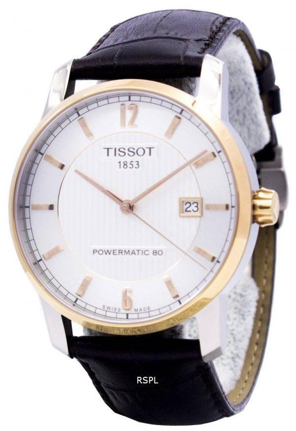 Montre Tissot T-Classic titane automatique T087.407.56.037.00 T0874075603700 masculin