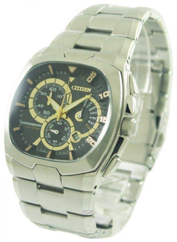 Citizen chronographe rétrograde AN9000-53E montre homme