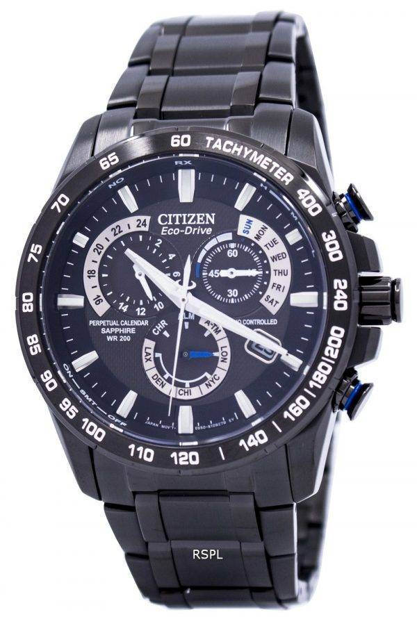 Montre Citizen Perpetual atomique Eco-Drive Chronographe AT4007-54E hommes