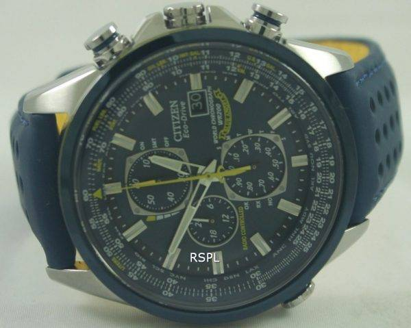 Citizen Eco Blue Angels radiocommandés World Chronograph AT8020 - 03L